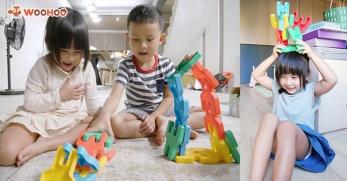 【育兒好物】PIGGYBACKS Q比人軟積木建構片激發小孩的無限想想力