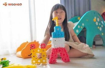有質感的MIT玩具品牌WOOHOO,榮獲美國年度最佳玩具獎CROSS BLOCK心心積木