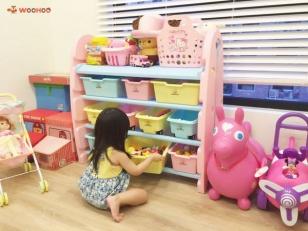 【育兒好物】超吸睛的馬卡龍粉嫩WOOHOO收納櫃-讓寶貝們邊遊戲邊學習收納