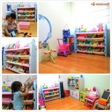 【育兒好物】從遊戲中學習收納的概念:實用的WOOHOO兒童玩具收納櫃