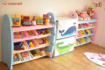 │收納│拯救10箱倒塌的遊戲箱由 『WOOHOO玩具收納櫃』開始