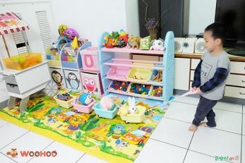 【好物】Woohoo玩具收納櫃,孩子變得更會分類收納