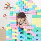 【WOOHOO】FantasBrick 大型搖搖軟積木 - 80pcs
