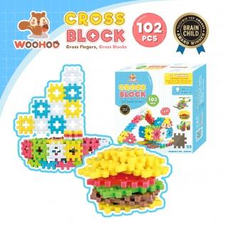 CROSS BLOCK - 102pcs