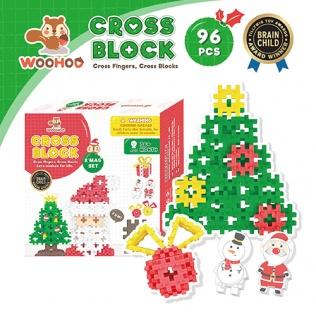 CROSS BLOCK X'MAS SET - 96pcs