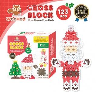 CROSS BLOCK X'MAS SET - 123pcs